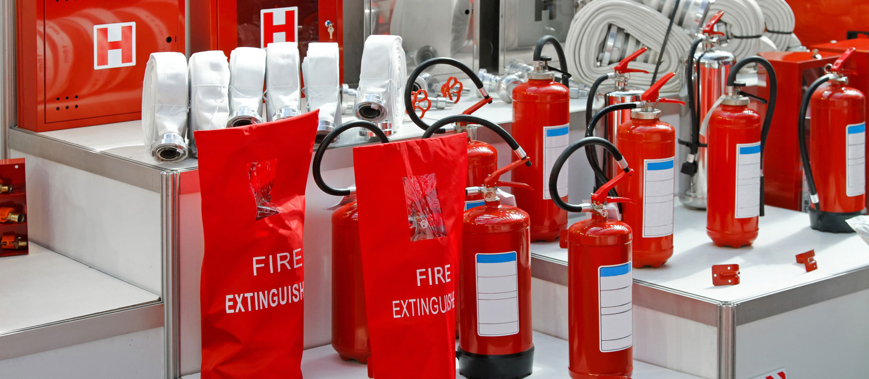 fire extinguishers - fire safety